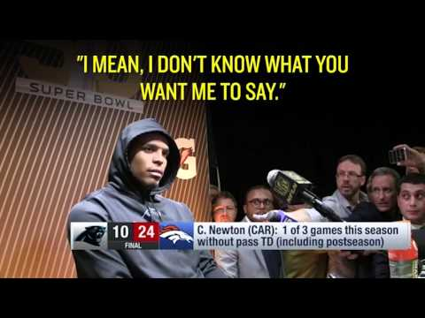 Cam Newton Post Game Press Conference Remixed