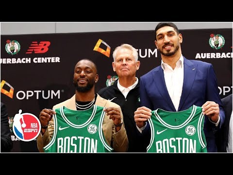 Video: Kemba Walker and Enes Kanter introductory Boston Celtics press conference | NBA on ESPN