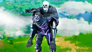 the FAKE Skull Trooper invited me to his Fortnite clan...
