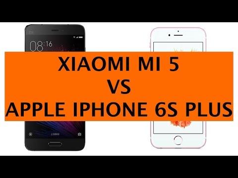Apple iPhone 6s Plus vs Xiaomi Mi 5 ITA