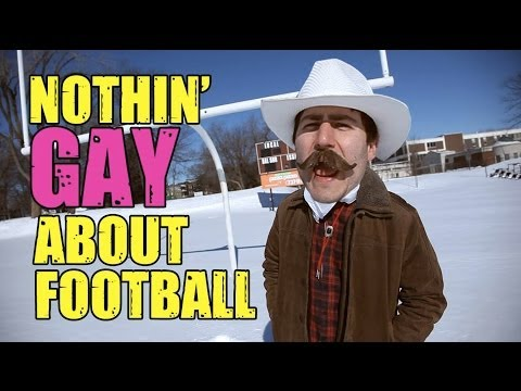 There Ain't Nothin' Gay About Football