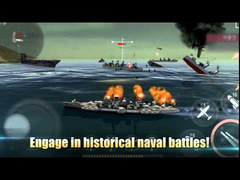 Warship Battle 3D World War II - Video