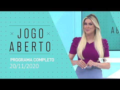 JOGO ABERTO - 20/11/2020 - PROGRAMA COMPLETO