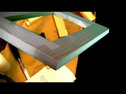 An unusual frame dovetail