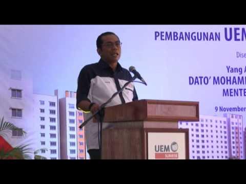 MB Pantau Pembinaan Rumah Mampu Milik Negeri Johor