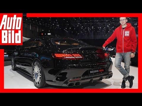 Brabus S-Klasse Coupé (Genf 2018) Sitzprobe/Details/Erk ...