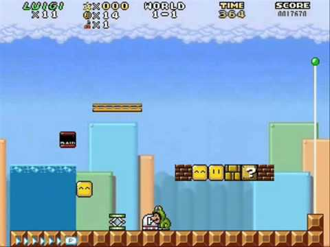 AgentTer's Super Mario Bros. fan game test update 2