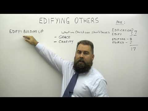 Edifying Others (видео)