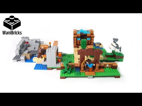 Lego Minecraft 21135 The Crafting Box 2.0 Build 1 of 3 - Lego Speed Build