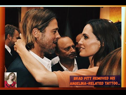 Brad Pitt Removed His Angelina-related Tattoo...