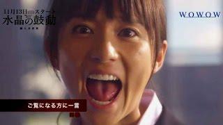 木村文乃主演/ドラマ『連続ドラマW 水晶の鼓動 殺人分析班』インタビュー