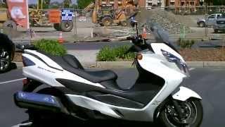 5. Contra Costa Powersports-Used 2012 Suzuki Burgman 400 motorscooter w/ABS brakes
