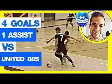 Futsal Highlights 2018: Dylan Tooby vs United 88s (Progressive Futsal Club / Calgary Soccer)