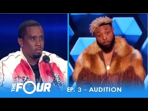 """Elijah Connor: """"Diddy"""" Tests Confident Artist With EPIC STAREDOWN!   S2E3   The Four"""