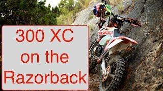 10. KTM 300 XC on the RazorBack Trail - Singletrack