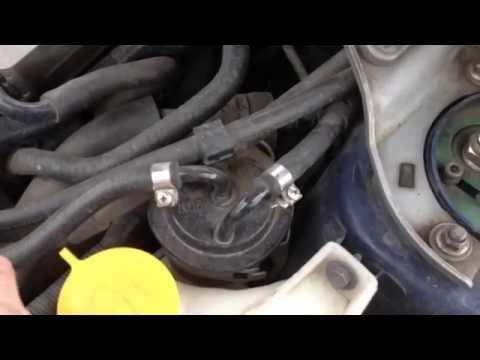 Топливный фильтр субару форестер где находится