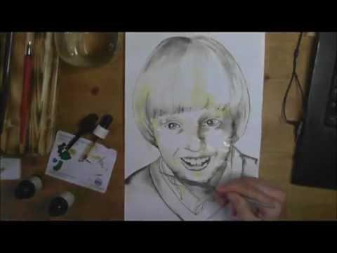 8 Wege ein Portrait zu zeichnen