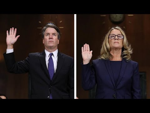 Key Moments From The Ford-Kavanaugh Hearing