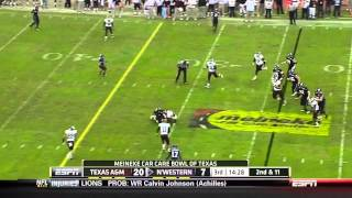 Sean Porter vs Northwestern (2011)