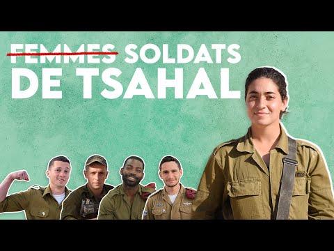 Pas seulement des « femmes » soldates. Des soldates de Tsahal.