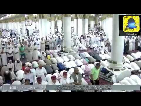 #فيديو: #شاهد ارتباك يسود المصلين في فجر الإثنين بالحرم النبوي !