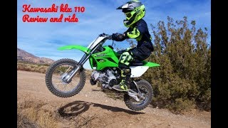 8. Kawasaki klx 110 review and test ride