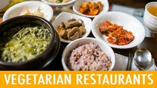 Video 8 Places to Eat Vegetarian in Korea (KWOW #176) MP3, 3GP, MP4, WEBM, AVI, FLV September 2018
