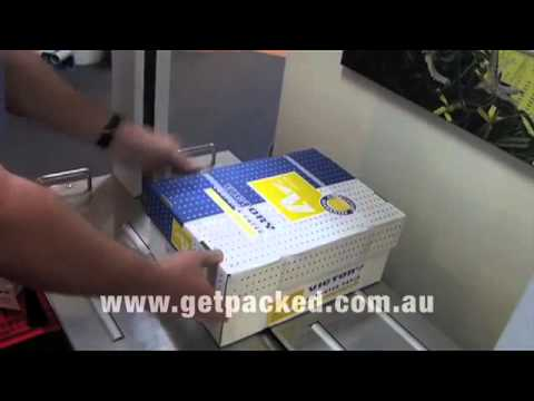GoodPack Auto Strapping Machine from Get Packed Packaging Australia