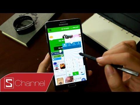 Đa nhiệm trên Galaxy Note 4 : Cùng lúc chạy 7 ứng dụng