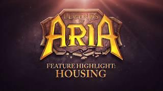Система домовладения станет важной частью Legends of Aria