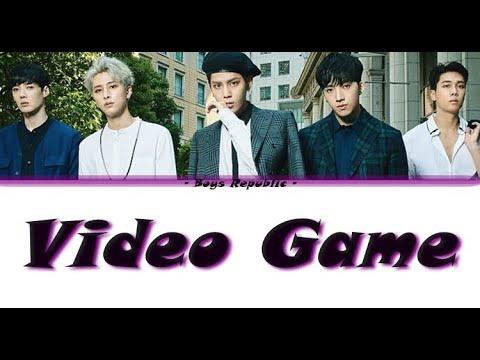 Boys Republic - Video Game LYRICS (Colour Coded)
