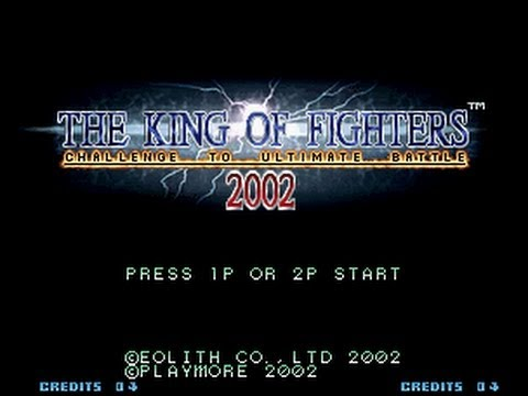 the king of fighters 2002 plus neo geo rom