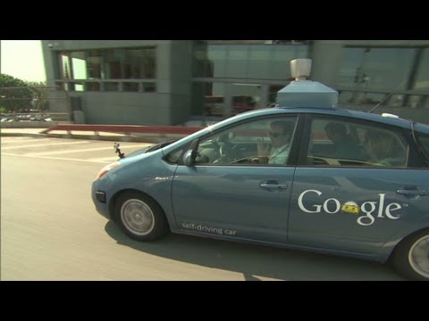 "Image of CNN testing Googles ""self-driving car"" (video)"