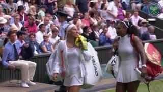 Wimbledon 2016 Serena Williams vs Kuznetsova