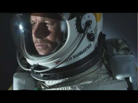 Supersonic Freefall Red Bull Stratos CGI