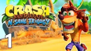 Gameplay / Let's Play sur Crash Bandicoot Remastered sur PS4 en français (FR)! Pensez à vous abonner...