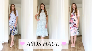 Hi everyone Today's video is an ASOS Haul. Last weekend I ordered these three dresses which I'm completely in love with so I...