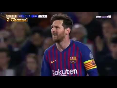 Barcelona 3 (4) - (0) 0 Manchester United Leg 2 1/4 Final UCL 2019