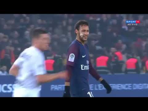 PSG vs Caen 3-1 - All Goals & Highlights  20/12/2017