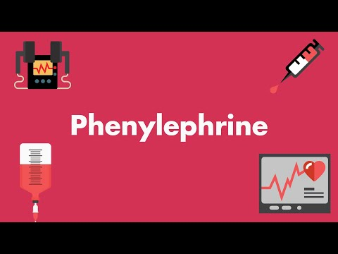 Phenylephrine - Vasopressors & Inotropes