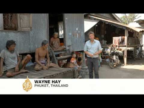 Thailand's 'Sea Gypsies'forced to find a new home