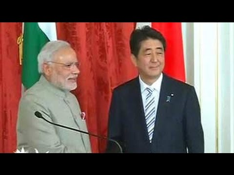 Japan to invest 33 billion dollars in India over next 5 years 01 September 2014 10 PM