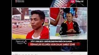 Video Zohri Akan Bertemu Presiden Jokowi Secara Langsung - Special Report 13/07 MP3, 3GP, MP4, WEBM, AVI, FLV Juli 2018