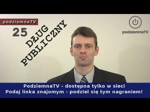 Pajac z TVN o długu publicznym