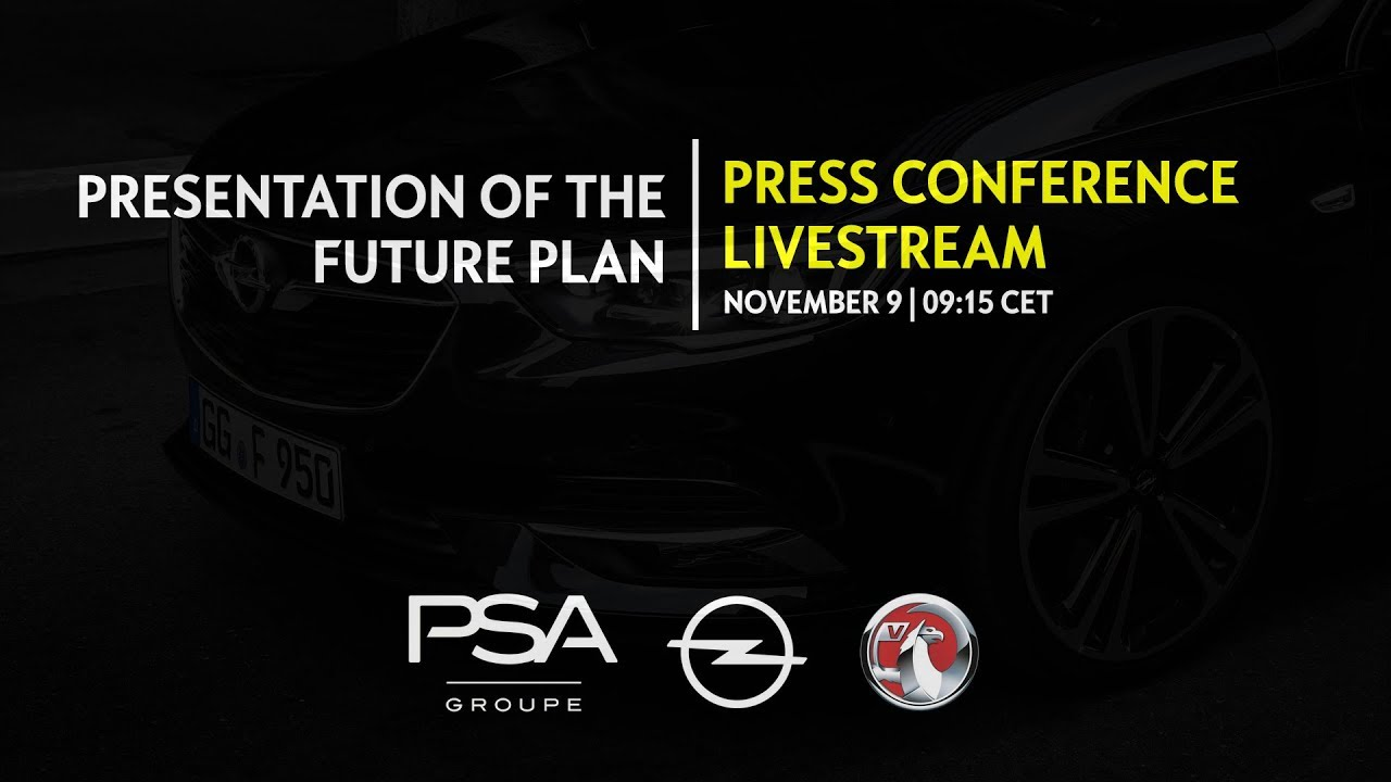 Presentation | Nov 9, 2017: Opel/Vauxhall Go Profitable, Electric and Global with PACE