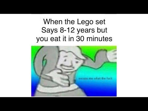 Excuse me what the f memes(NEW MEME) (видео)