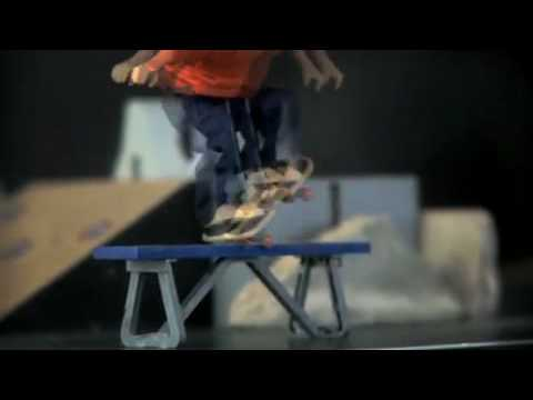 Ryan Sheckler Omnitech Skateboard Figure