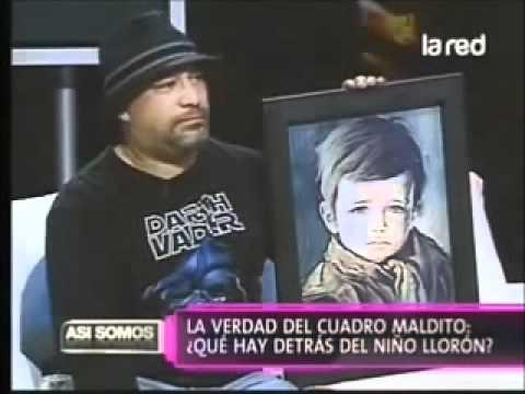 cuadro maldito el niño que llora