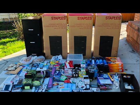 WE FOUND ALL OF THIS IN ONE DUMPSTER- $1800 DUMPSTER DIVING HAUL