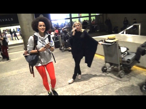 The Beautiful Nathalie Emmanuel Of Game Of Thrones Arrives In LA